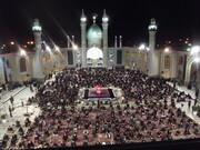تصاویر/ احیای شب بیست و یکم ماه مبارک رمضان در حرم محمدهلال بن علی (ع) آران و بیدگل