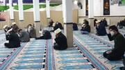 تصاویر/ مراسم احیای شب قدر در مسجد صاحب الزمان (عج)شهر توپ آغاج بیجار