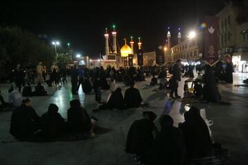 بالصور/ إحياء ليلة الحادي والعشرين من شهر رمضان في جوار حرم كريمة أهل البيت (ع) السيدة المعصومة عليها السلام بقم المقدسة