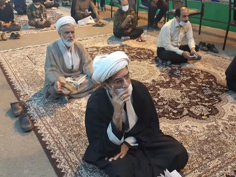 تصاویر/ احیای شب بیست و یکم ماه مبارک رمضان در مصلای بقیه الله الاعظم(عج) کاشان