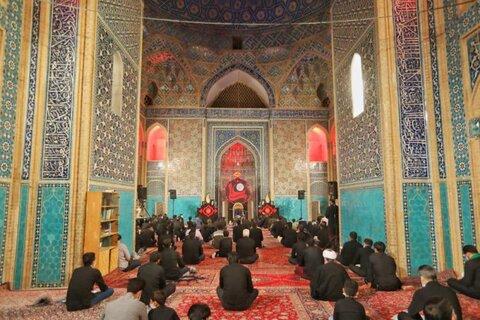 تصاویر/مسجد تاریخی جامع یزد میزبان عزاداران شهادت امام علی(ع)