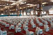 توزیع ۵ هزار بسته معیشتی به همت بسیجیان ناحیه ویژه بسیج شهرستان قم