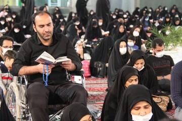 تصاویر/ احیای شب بیست و سوم ماه رمضان در حرم محمد هلال بن علی (ع) آران و بیدگل