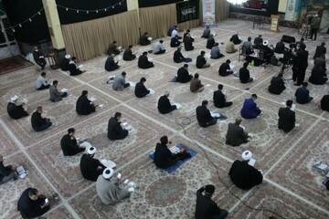 تصاویر/ مراسم احیای شب بیست و سوم رمضان در حسینیه بزرگ سنندج