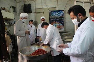 تصاویر/ بازدید مدیر حوزه علمیه قزوین از مرحله دوم رزمایش کمک مؤمنانه حوزه استان