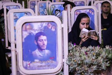 تصاویر/ احیای شب بیست و سوم رمضان در گلستان شهدای اصفهان