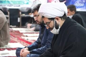 تصاویر/ احیای شب بیست و سوم ماه رمضان در مسجد جامع شهرستان قروه
