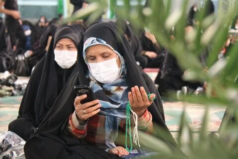 تصاویر/ احیای شب بیست و سوم ماه رمضان درحرم محمدهلال بن علی (ع) آران وبیدگل