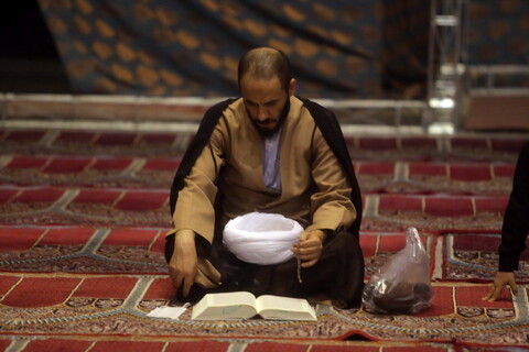 احیای شب بیست و سوم ماه مبارک رمضان در مصلای قدس قم
