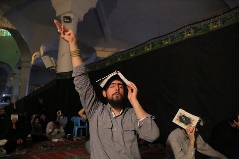 تصاویر/ احیای شب شب بیست و سوم ماه مبارک رمضان در مصلای قدس قم