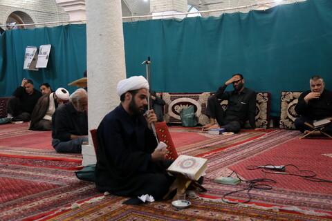 تصاویر / مراسم عزاداری امیرالمومنین (ع) در مدرسه علمیه شبانه امام صادق(ع) قم