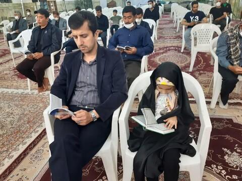 مراسم شب بیست و سوم در امامزاده هاشم بن علی (ع) و فاطمه بنت العسکری (س) آران و بیدگل