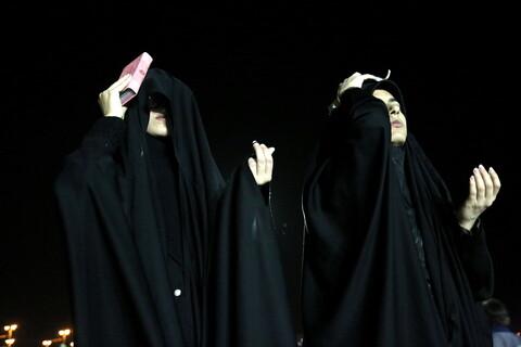 تصاویر/ حال و هوای مساجد پردیسان در بیست یکمین شب قدر