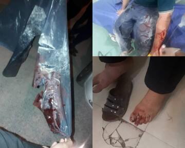 حمله اراذل و اوباش به جهادگران دزفولی