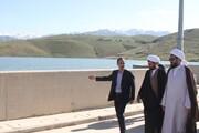 بازدید امام جمعه همدان از سد اکباتان/ مردم در مصرف آبصرفه جویی کنند