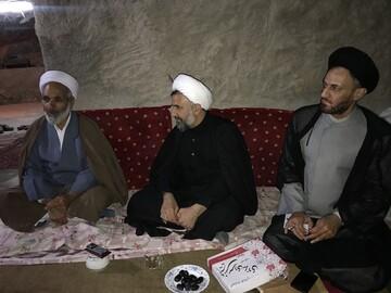مدیر حوزه علمیه استان یزد پای صحبت اساتید حوزه بهاباد نشست