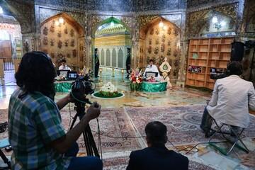 تولید و انتشار ۶۹۶ محتوای رسمی و معارفی در حرم حضرت معصومه(س)