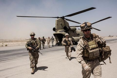 حضور امریکا در افغانستان