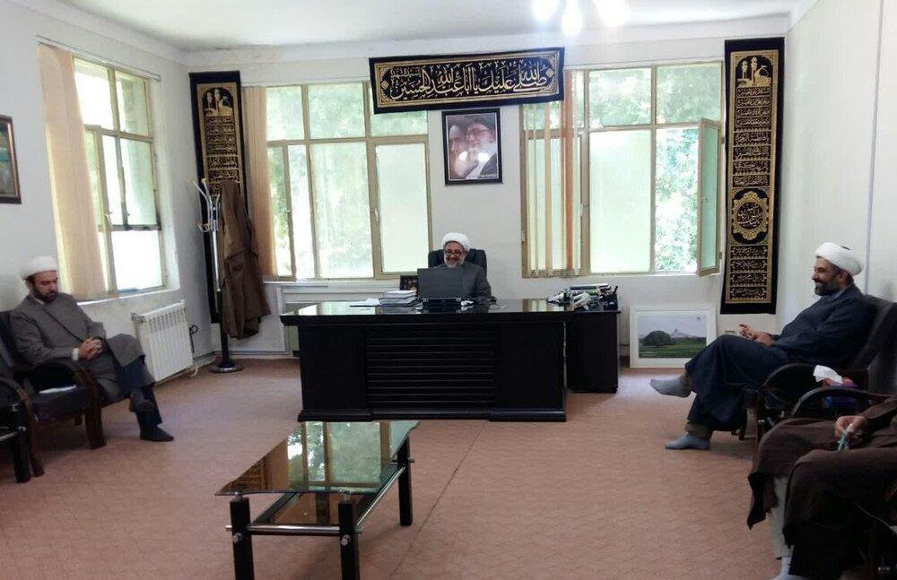 جلسه شورای معاونان حوزه علمیه استان ایلام
