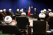 نشست صریح طلاب جهادی عرصه سلامت با آیت الله اعرافی