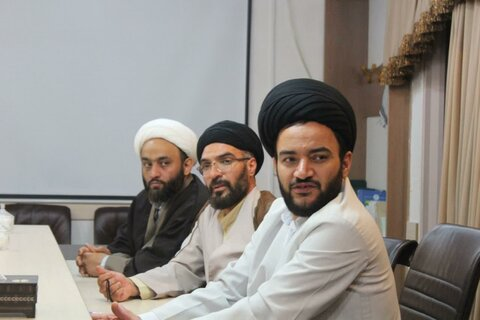 تصاویر/ دیدار مدیران حوزوی کردستان با حجت الاسلام و المسلمین سیدمحمد حسینی شاهرودی