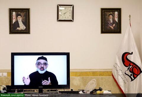 """بالصور/ اليوم الثاني لمؤتمر """"القدس الشريف"""" في العالم الافتراضي بقم المقدسة"""