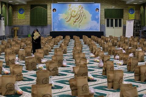 رزمایش کمک مومنانه طلاب جامعه الزهرا (س)