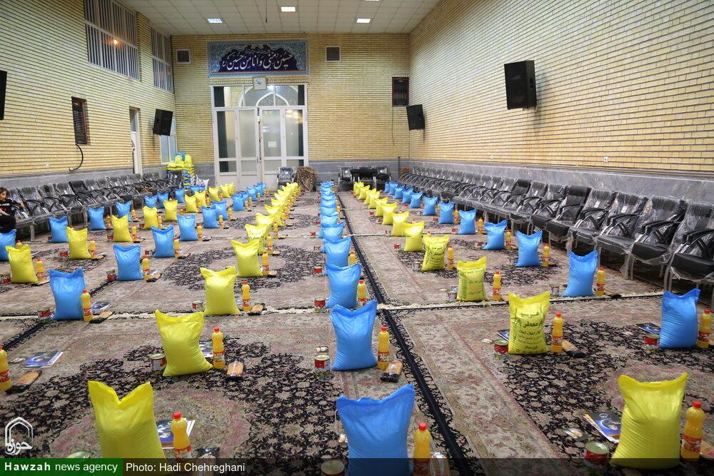آماده سازی کمکهای مومنانه هیئت خادم الرضا (ع) قم