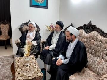 دیدار صمیمانه مدیر جامعةالزهرا با خانواده جانباز شهید خازنی
