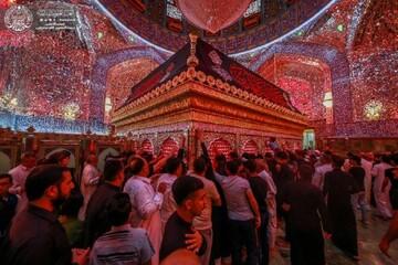 حال و هوای حرم حضرت امیرالمومنین (ع) در روز های آخر ماه مبارک رمضان