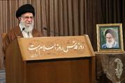 صوت کامل سخنرانی تلویزیونی رهبر انقلاب به مناسبت روز جهانی قدس