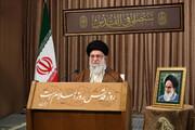سخنرانی تلویزیونی رهبر معظم انقلاب به مناسبت روز جهانی قدس