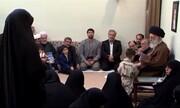 سوال جالب عروس شهید مختاروند از رهبر انقلاب در مورد فرزندآوری