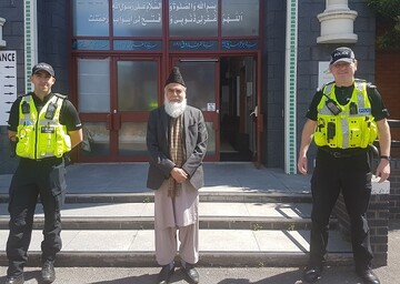 UK Police and Muslim community leaders deliver joint message before Eid