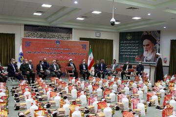 تصاویر/ سومین مرحله توزیع ۳۰هزار سبد غذایی توسط کمیته امداد همدان
