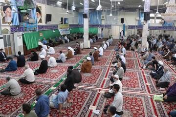 اولین نماز جمعه حرم حضرت زینب پس از کرونا برگزار شد +تصاویر