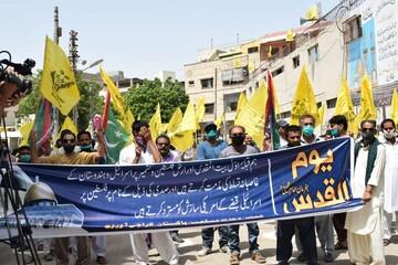راهپیمایی روز جهانی قدس در پاکستان (۱)