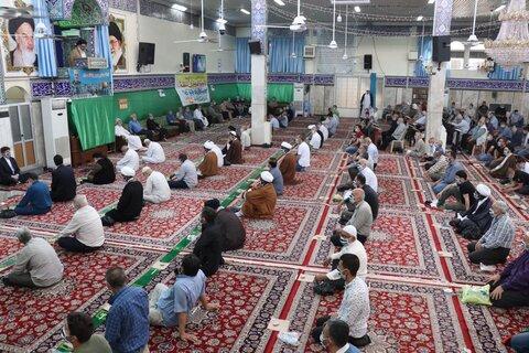 اولین نماز جمعه حرم حضرت زینب س پس از کرونا