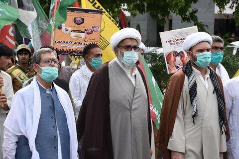 تصاویر/راهپیمایی روز جهانی قدس در پاکستان (1)