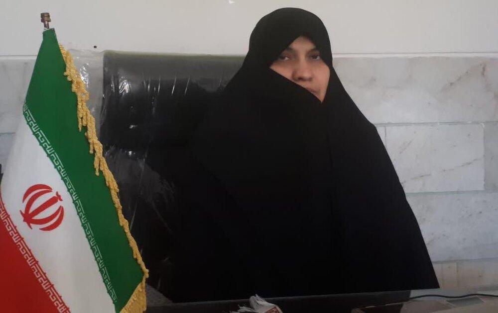 کمک به تکمیل جهیزیه زوج سادات به همت بانوان طلبه یزدی