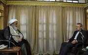 قدردانی آیتالله العظمی مظاهری از علی لاریجانی