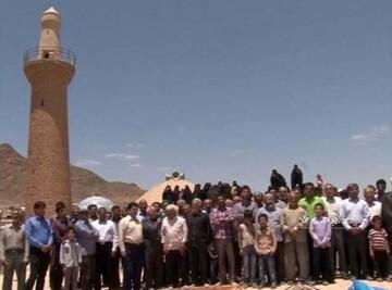 آئین ۷۰۰ ساله «الوداع» با ماه مبارک رمضان در ندوشن