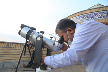 استهلال ماه شوال در رصدخانه امام علی (ع)  قم