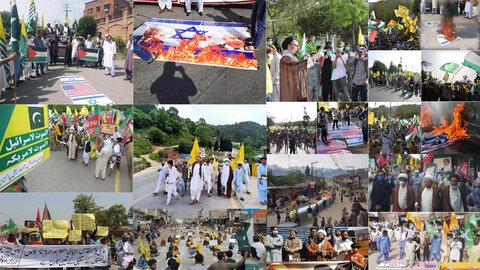 غلب قدس بر کرونا در پاکستان