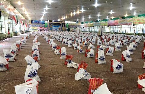 توزیع بسته های معیشتی در دزفول