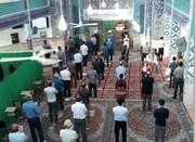 اقامه تصاویر نماز عید فطر در اردکان