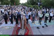 تصویری رپورٹ| ایران کے شہر قزوین میں نماز عید الفطر