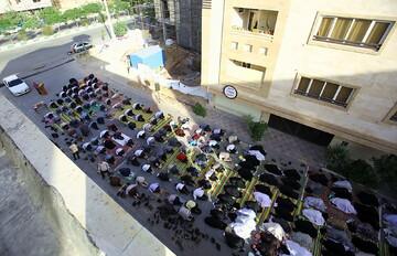 نماز عید سعید فطر در ۶۰۰مسجد  قم اقامه شد