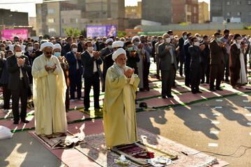 اقامه نماز عید سعید فطر در بجنورد