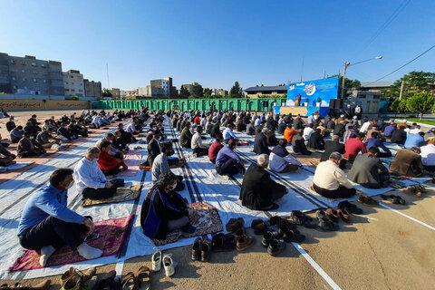 تصاویر  اقامه نماز عید سعید فطر در بجنورد